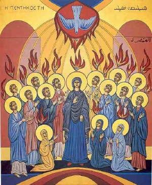 """Résultat de recherche d'images pour """"Icône Syriaque de la Pentecôte"""""""